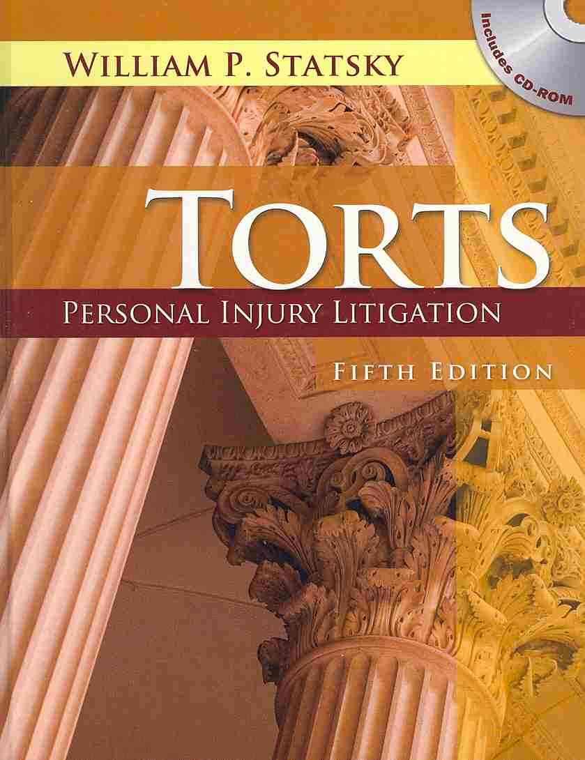 Torts By Statsky, William P.